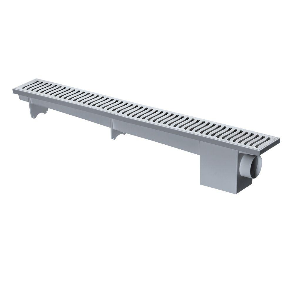 Ralo Linear Sifonado Cinza 500MM 4022/4026 Herc