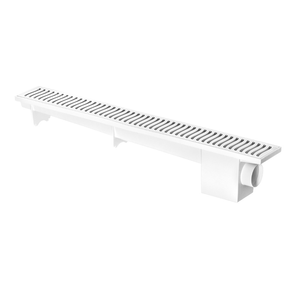Ralo Linear Sinfonado Branco 500mm Herc