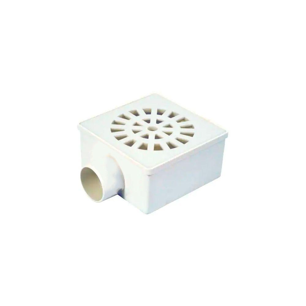 Ralo Sifonado 100MM Quadrado Simples 2268 Herc