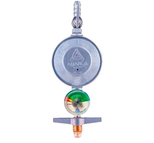 Regulador de Gás com Manometro 504/1 Aliança