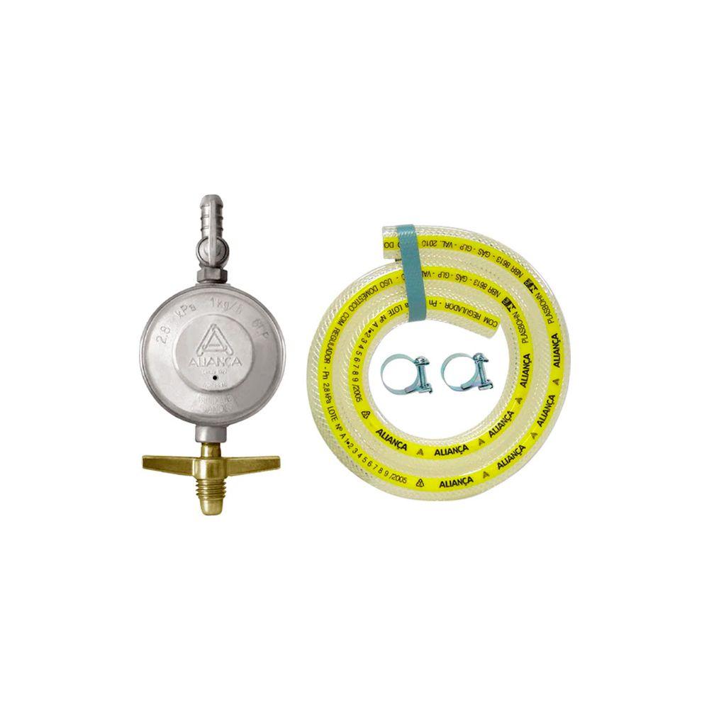Regulador Gás Com Mangueira 120CM 504/01 Aliança