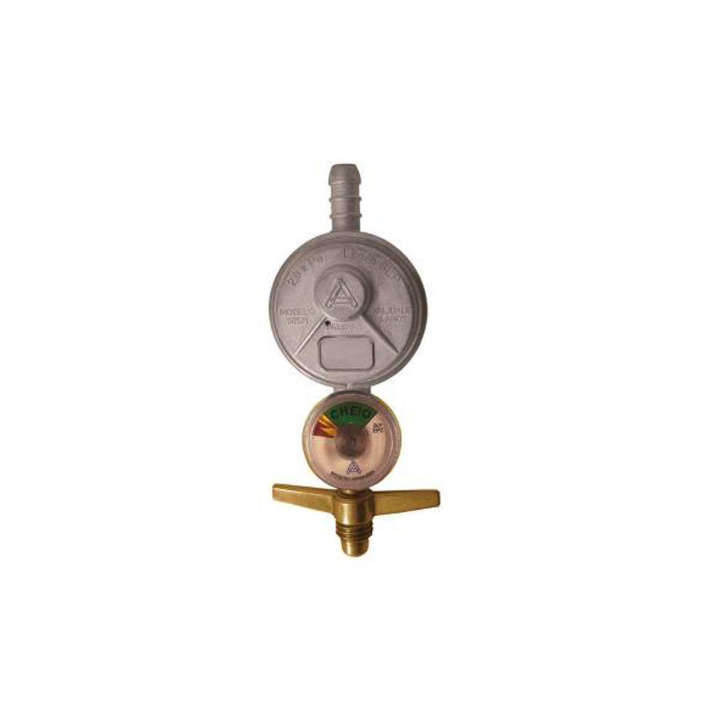 Regulador Gás Com Manômetro 505/1 Aliança