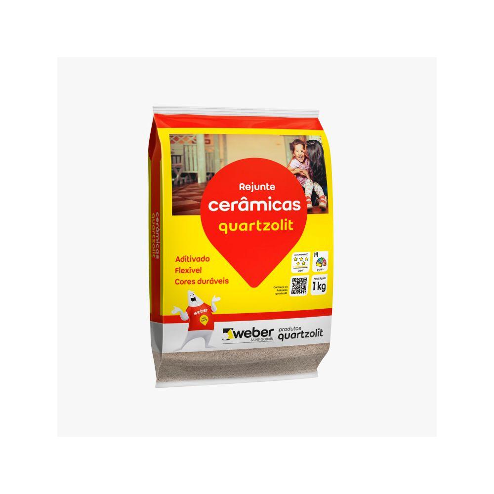 Rejunte Marrom Café 1kg Quartzolit
