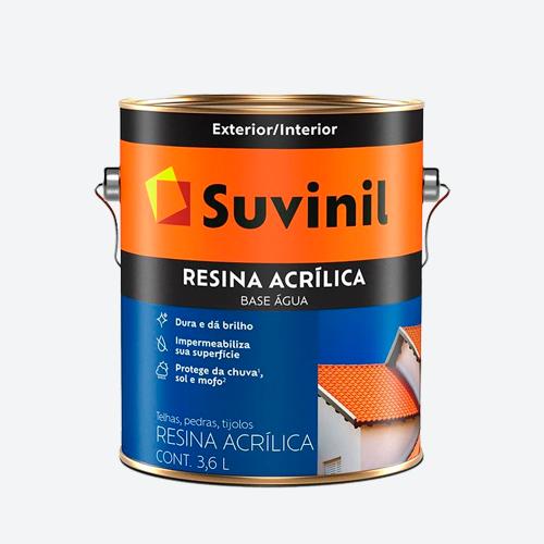 Resina Acrílica para Telha Base  3,6L Cerâmica Telha Suvinil