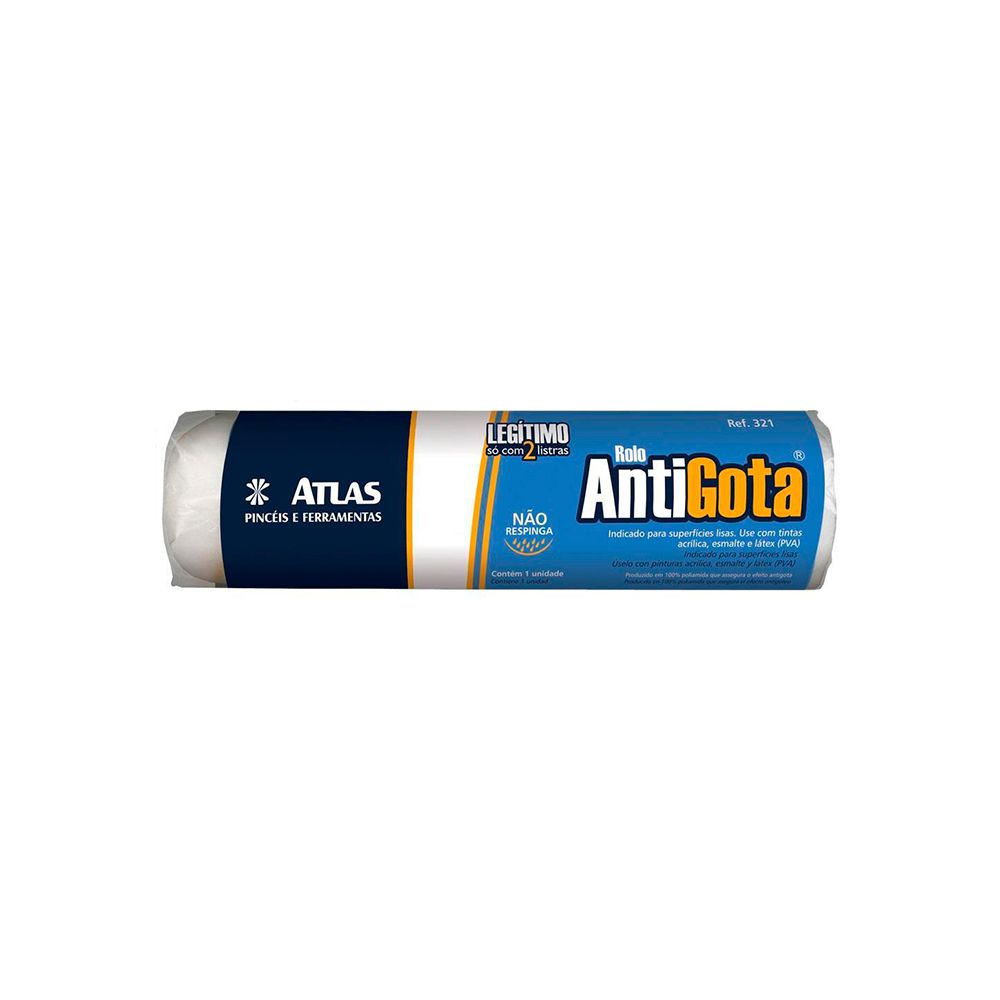 Rolo Anti Gota 15cm 321/15 Atlas