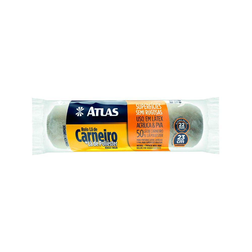 Rolo De Lã Mista 23cm 228/22 Atlas