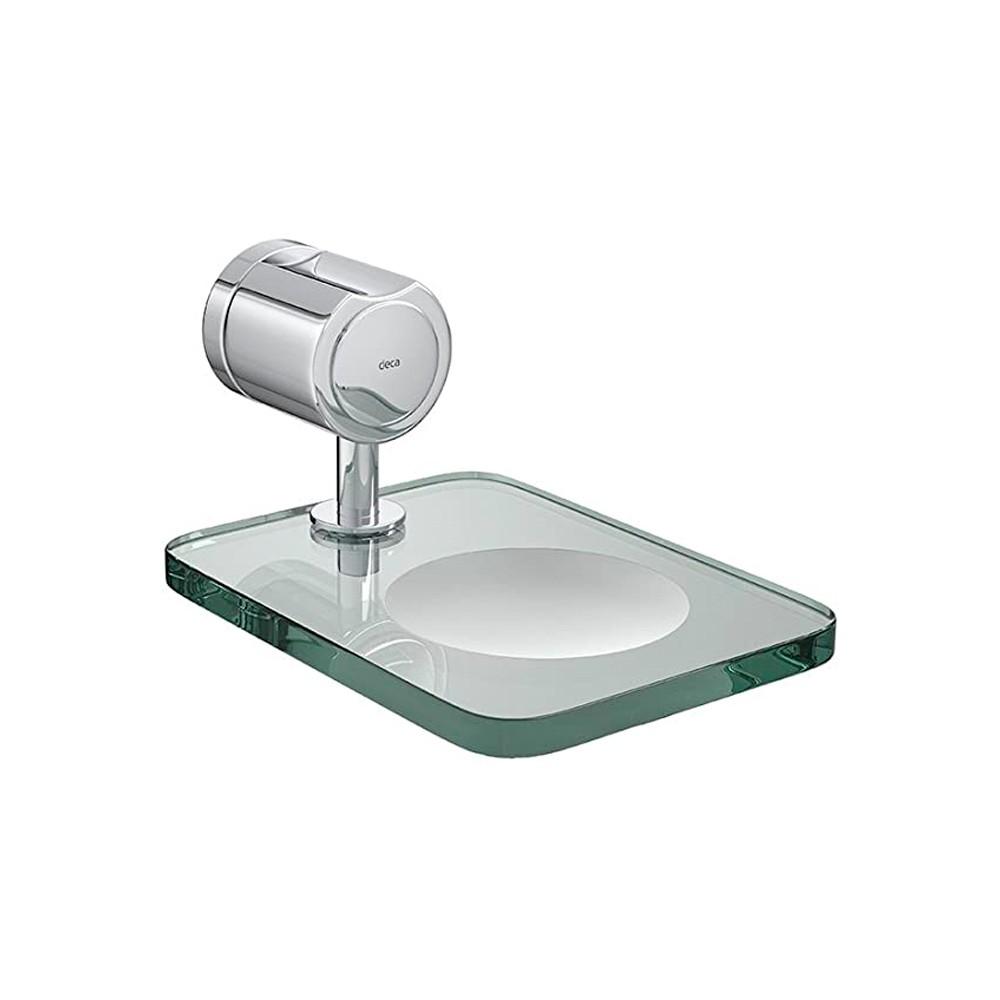Saboneteira Cromada para Banheiro Targa Deca
