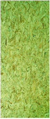 Tapume Osb Verde 8mm 1,22x2,20mt 2,684m² Lp Brasil