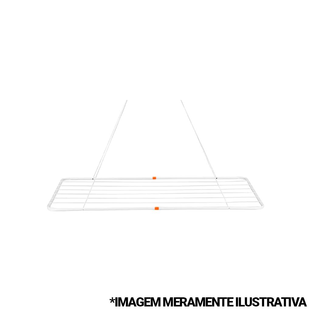 Varal de Teto Aço 1,20x56cm Mor