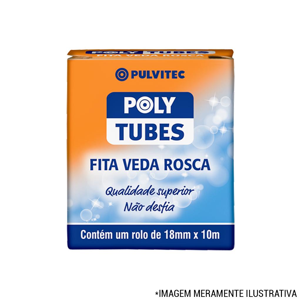 Veda Rosca 18mmx10mt Polytubes Pulvitec