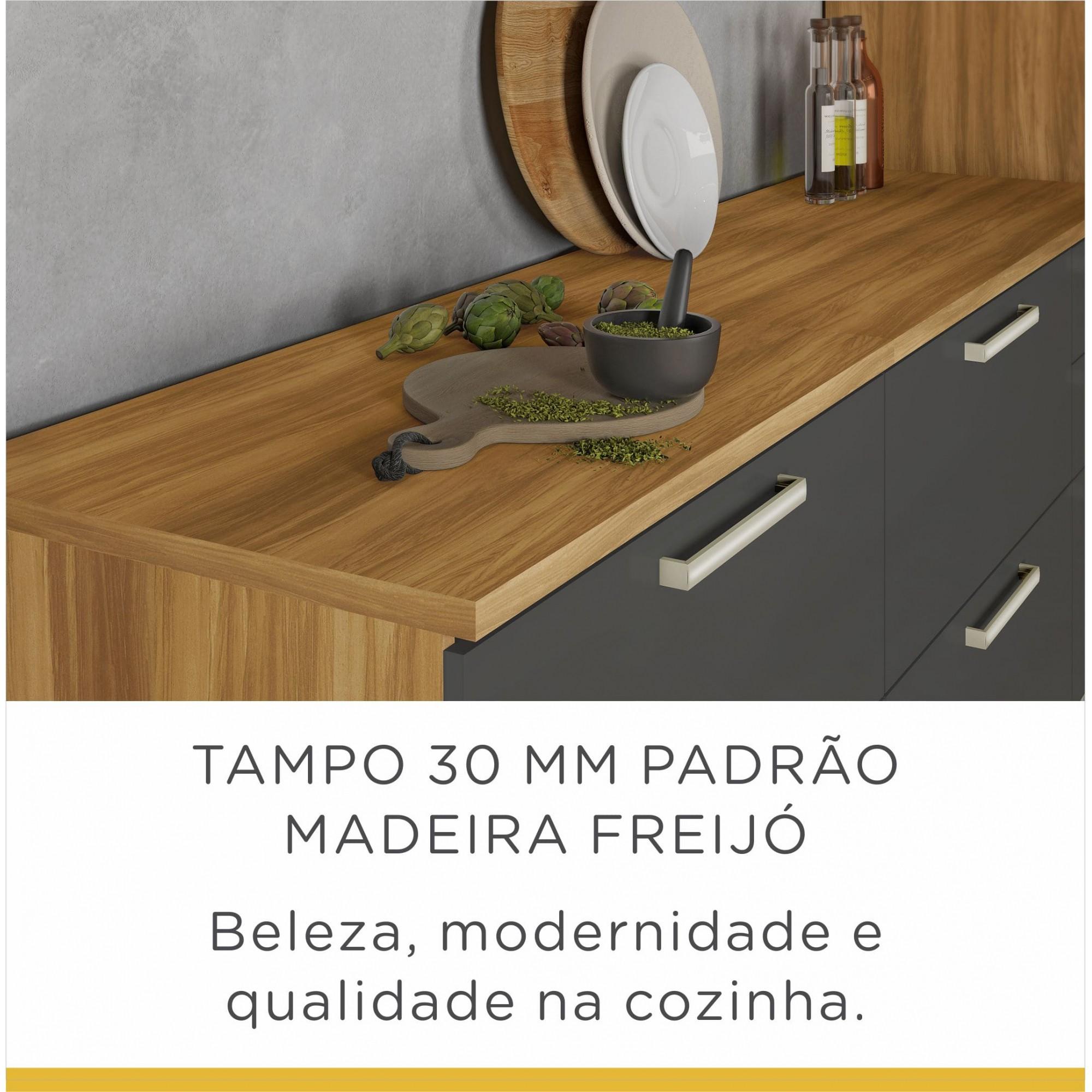 Balcão 1 Porta 1 Gav Burguesa 80cm MDF