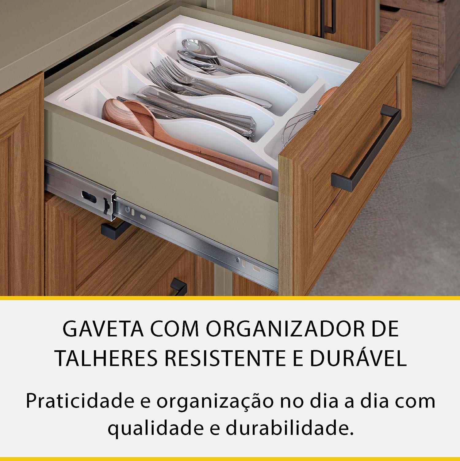 Cozinha 4 Peças Nesher Camponesa Ratan