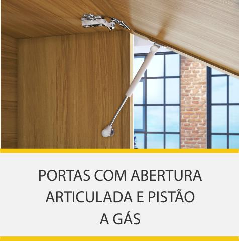 Cozinha 5 Peças Nesher Baronesa Torre Quente 100% MDF