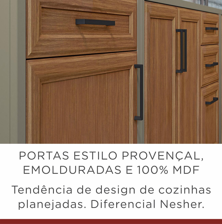 Cozinha 5 Peças Nesher Camponesa Ratan