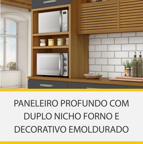 Cozinha 5 Peças Nesher Princesa 100% MDF