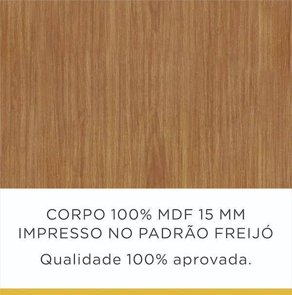 Cozinha Completa 5 Peças Nesher Burguesa 100% MDF