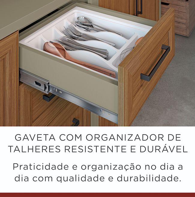 Cozinha 2 Peças Camponesa 100% MDF