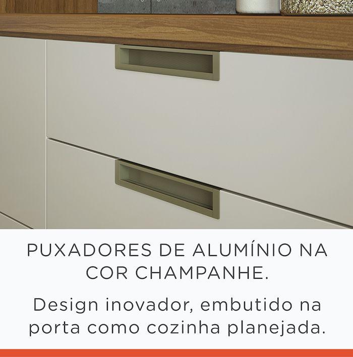 Cozinha 4 Peças Nesher Duquesa MDF
