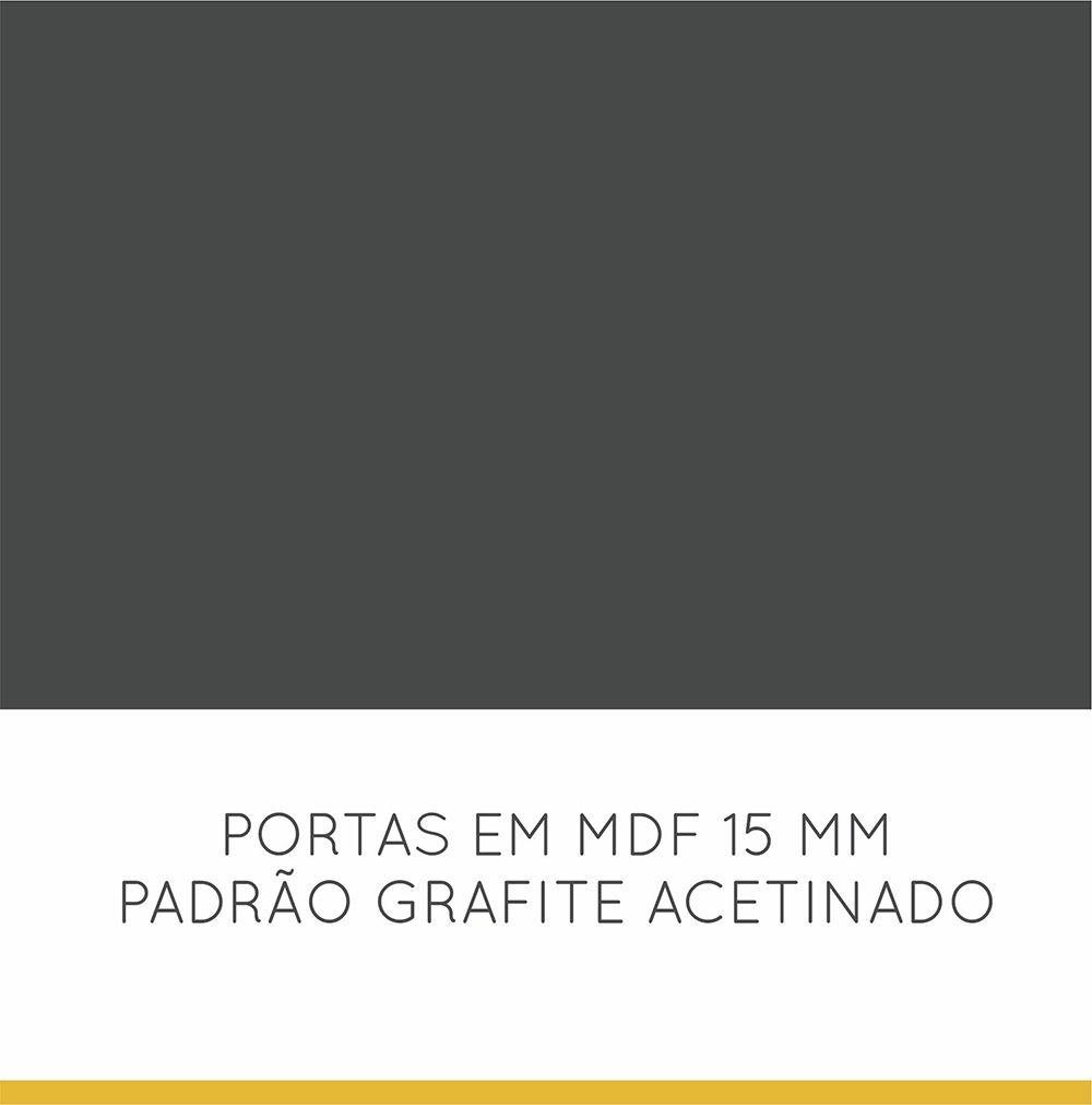 Balcão 01 Porta 01 Gaveta Nesher Baronesa 80 cm