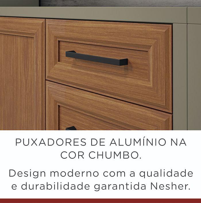 Balcão 2 Portas Nesher Camponesa 80 cm 100% MDF