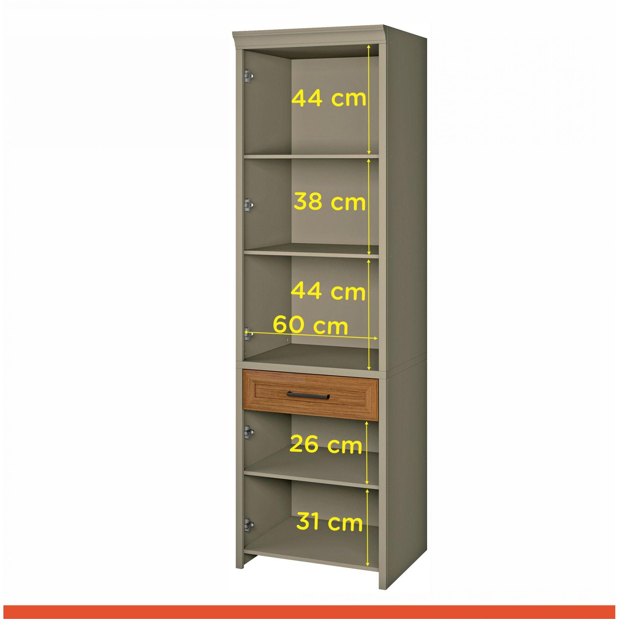 Paneleiro 2 Porta 1 Gav Camponesa 66cm MDF