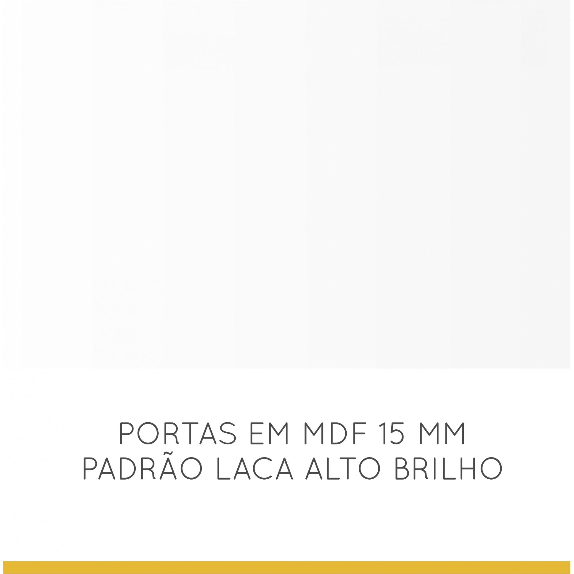 Paneleiro 02 Portas 03 Gavetas Baronesa 70 cm