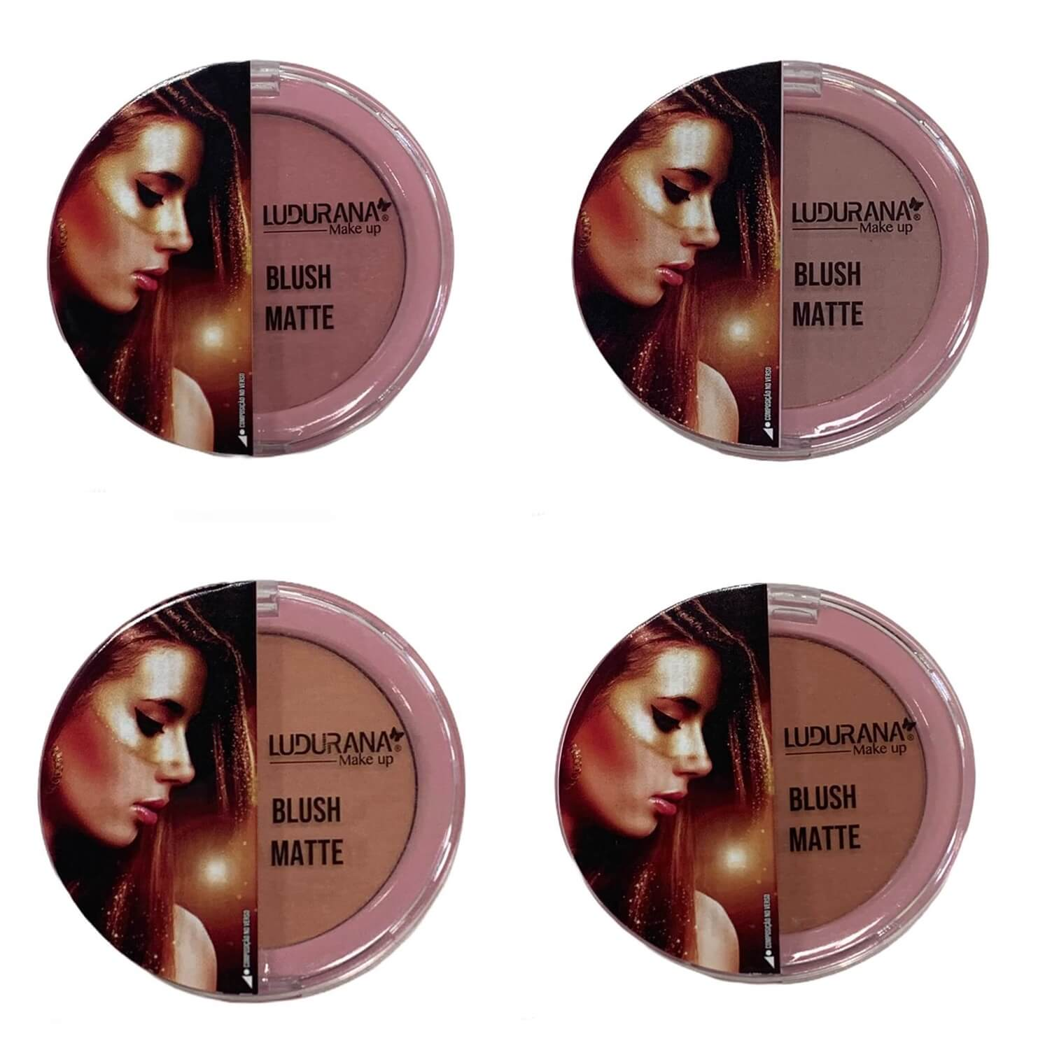 Blush Matte - Ludurana Make Up