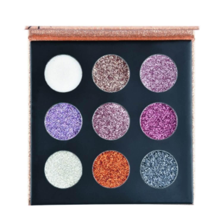 Paleta de Glitter Cremoso Shine B - Ruby Rose