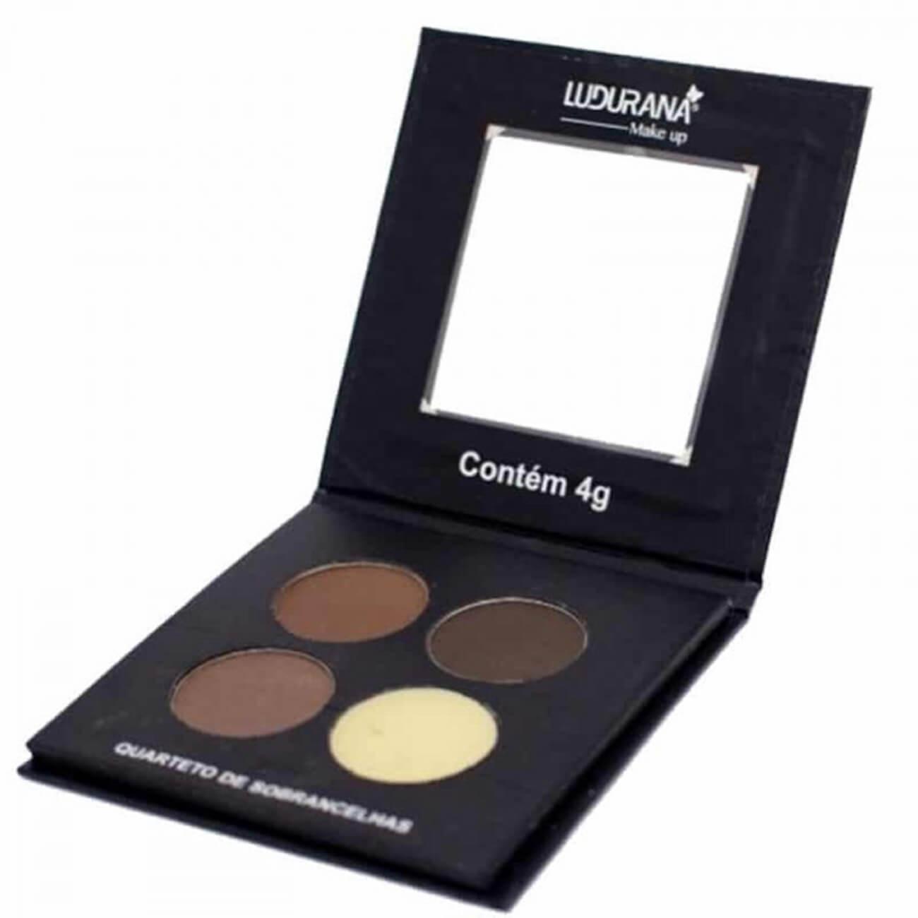 Quarteto de Sobrancelhas - Ludurana Make up
