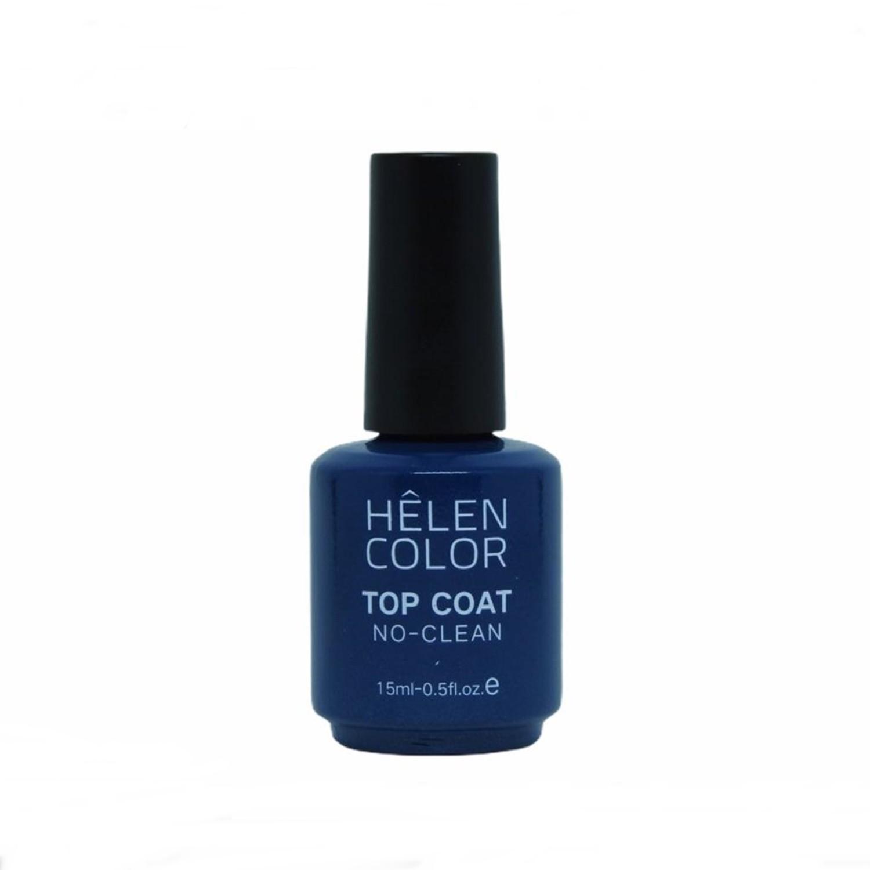 Top Coat No Clean 15ml - Hêlen Color