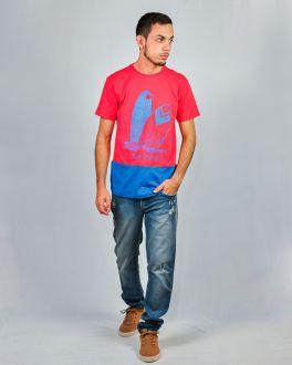 Camiseta Estampada Manga Curta Masculino Guilherme Augusto