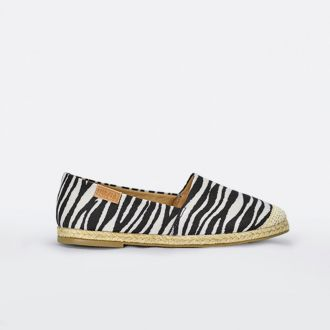 Alpargata Sua Cia Print Tecido Zebra