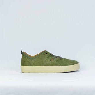 Tenis Street Qix Masculino Verde Militar Foot Flip 110328