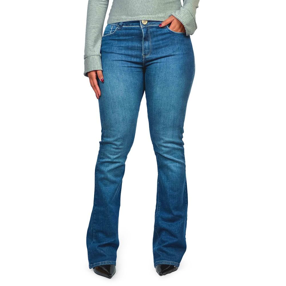 Calça Jeans Bout Cut Feminina Six One Denim Ambition