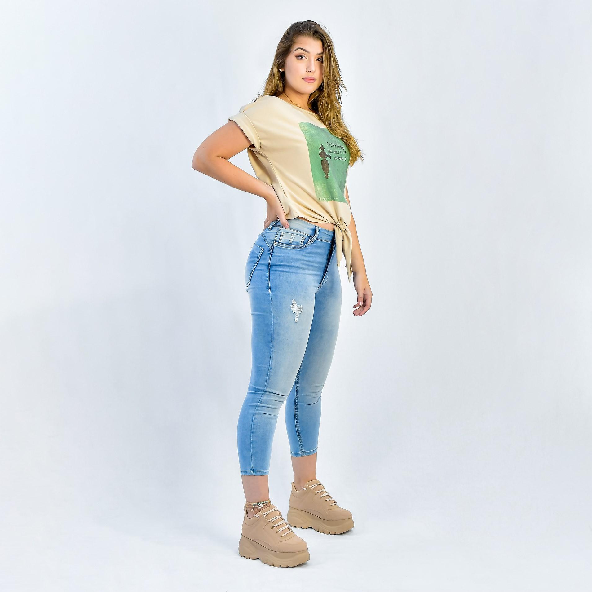 Calca Jeans Club Denim