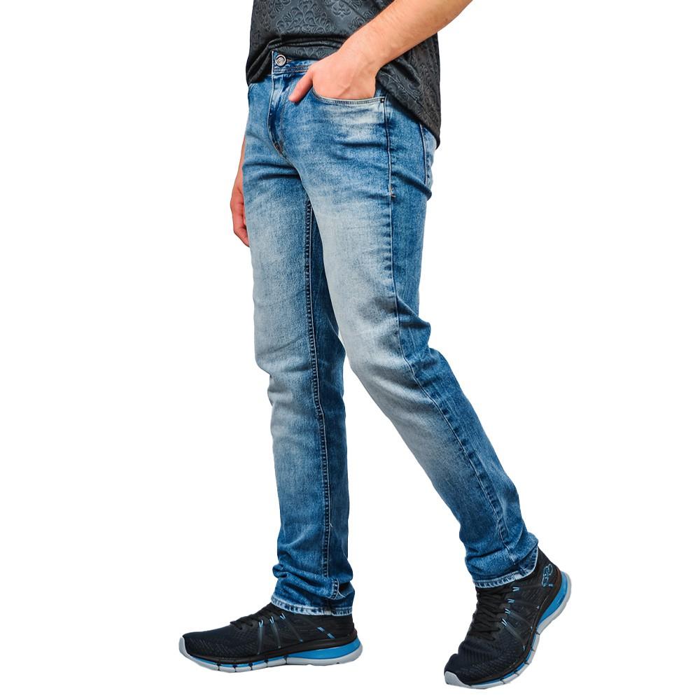 Calça Jeans Just Fit Masculino Six One Lavada Hiperflex