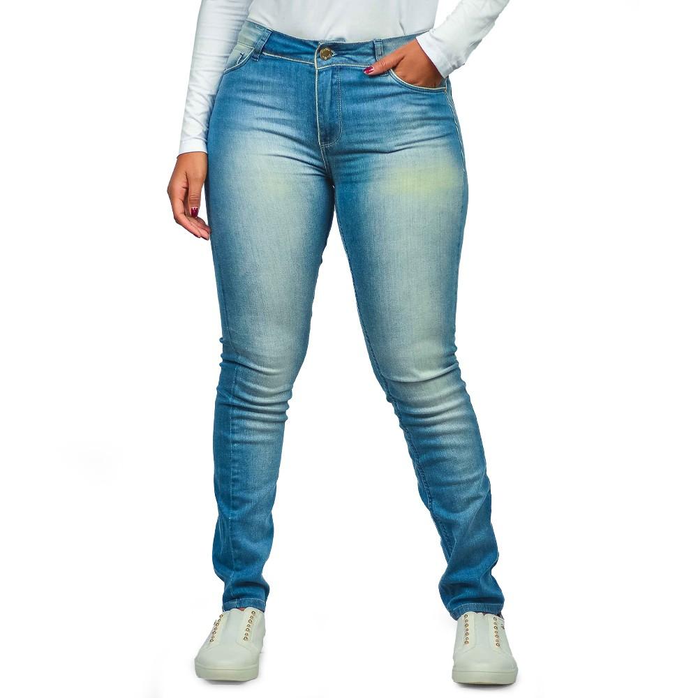 Calça Jeans Skinny Masculino Six One Hiperflex