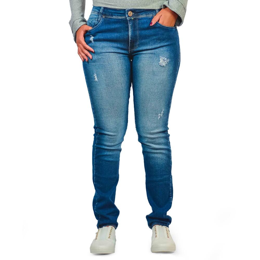 Calça Jeans Skinny Feminina Six One Luxury Design