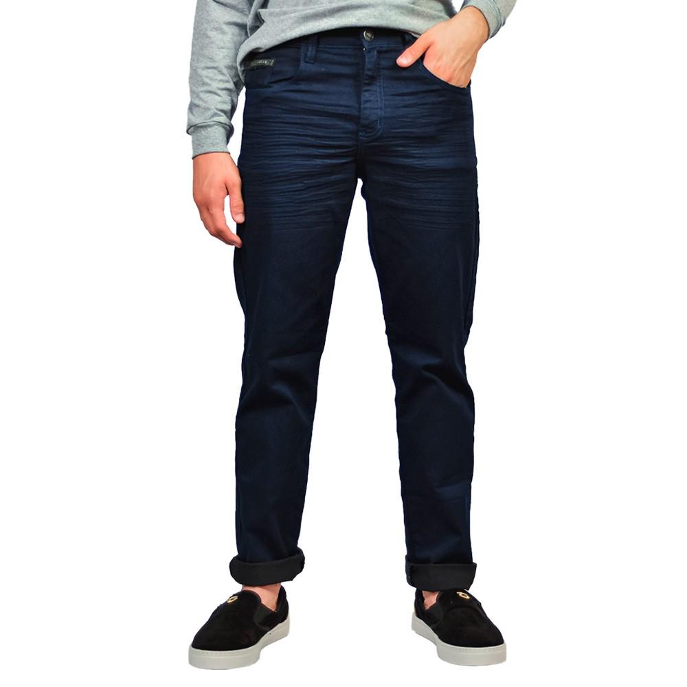 Calça Jeans Tradicional Masculino Max Denim Marinho