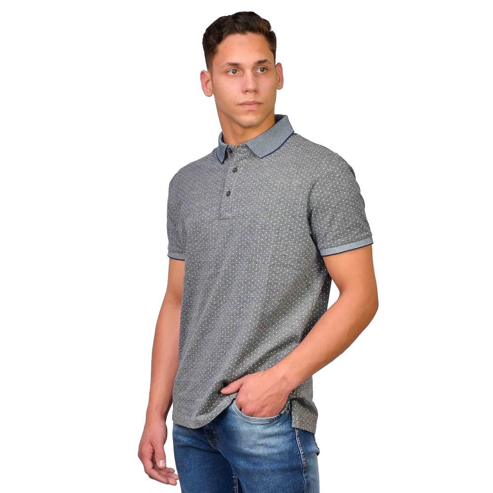 Camiseta Gola Polo Masculina Guilherme Augusto em Algodão Manga Curta