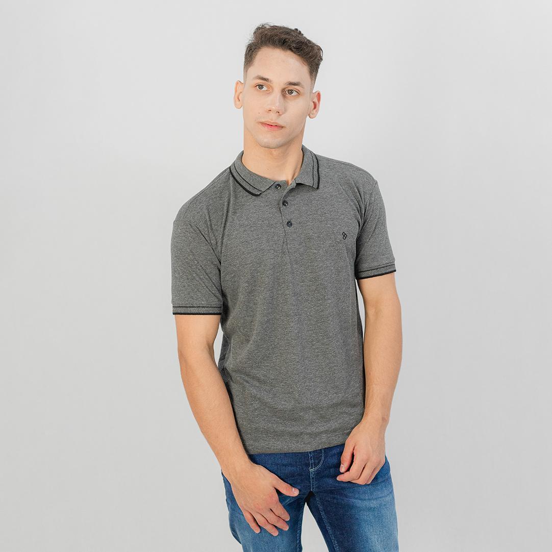 Camiseta Gola Polo MC Pitt Mescla