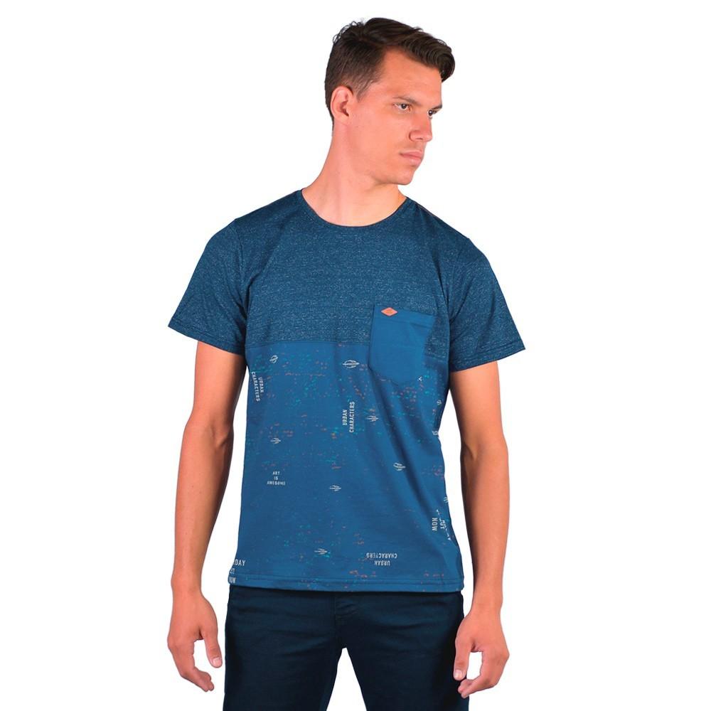 Camiseta Masculina Basica Gola Redonda Elegante