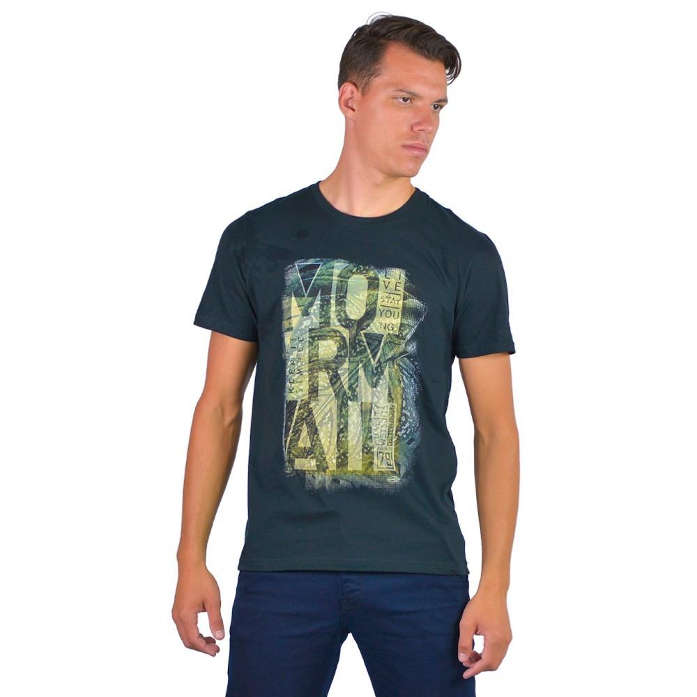 Camiseta Masculina Estampa Mormaii Basica Estilo Casual