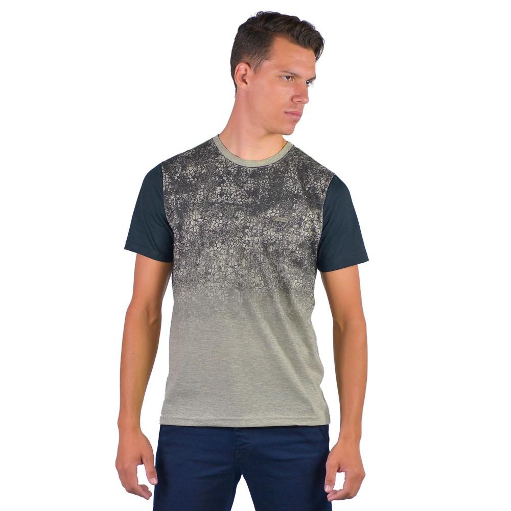 Camiseta Masculina Gola C Mormaii Estampada manga Curta