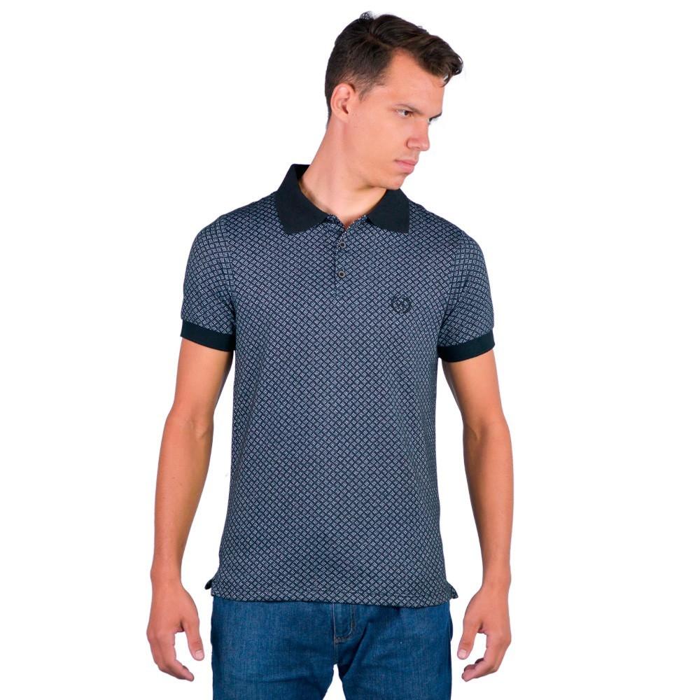 Camiseta Masculina Gola Polo Estilosa Guilherme Augusto