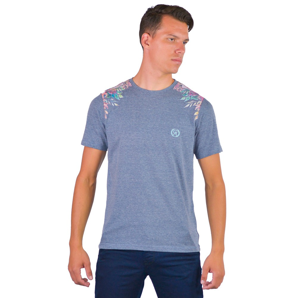 Camiseta Masculina Gola Redonda Lisa Verão Manga Curta