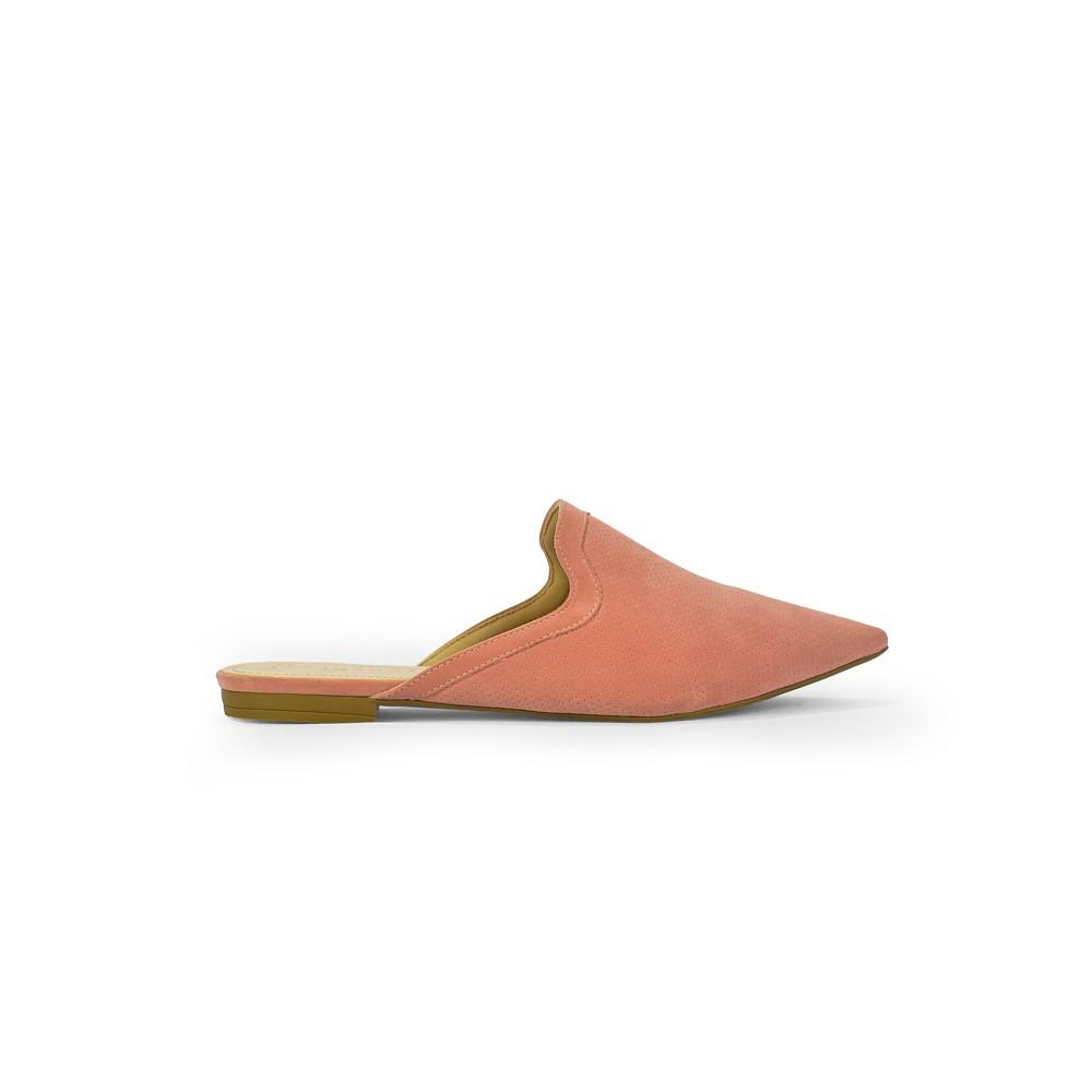 Mulle Bebece Feminino Fashion Nobuck Rose Confort 2036-265