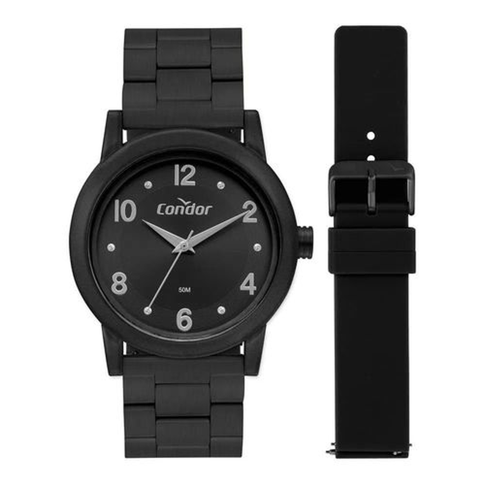 Relógio, Analógico, CONDOR, CO2035MUZ/T8P, feminino, Preto