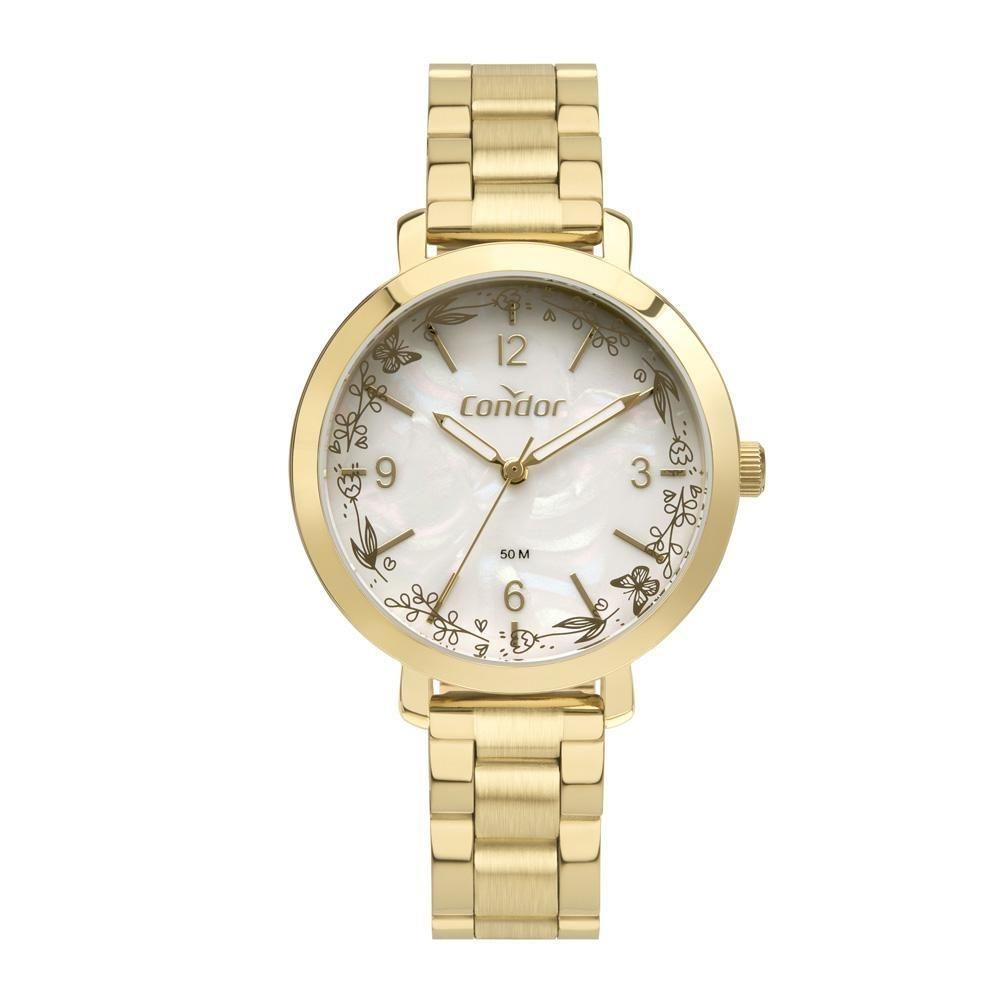 Relógio Condor Feminino Mimos Sutilezas Dourado Co2035Myl/4D