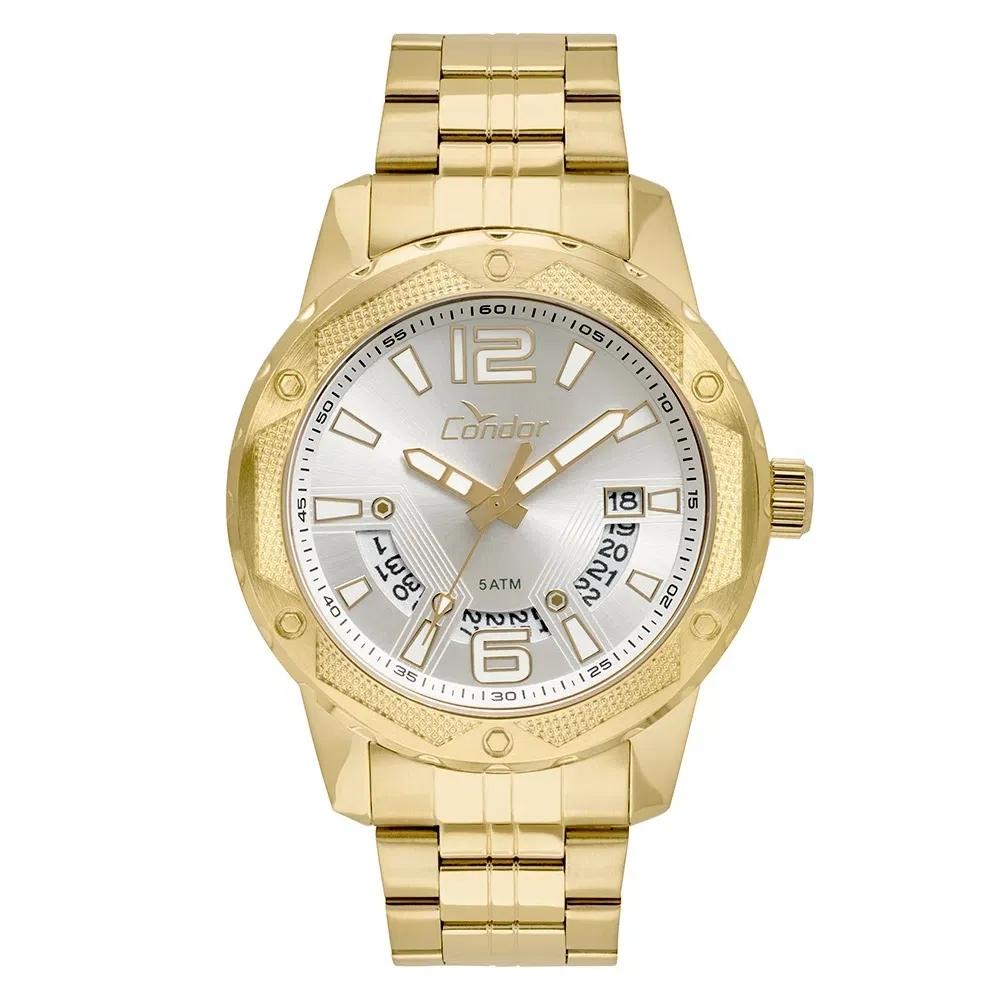 Relógio Condor Masculino Ferragens Dourado - CO2415BL/4K